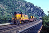 Photo 4697<br /> Chessie System<br /> Harpers Ferry, West Virginia<br /> September 1981