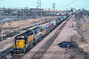 Photo 4125<br /> Chicago & North Western; Clinton, Iowa<br /> April 1993