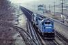 Photo 5036<br /> Conrail<br /> Cresson, Pennsylvania<br /> April 1990