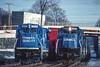 Photo 4138<br /> Conrail; Palmer, Massachusetts<br /> January 1996