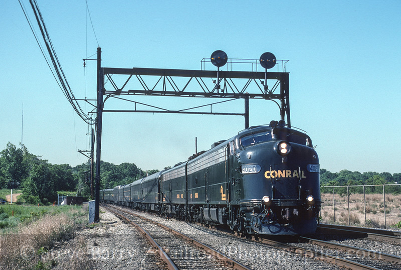 Photo 3569<br /> Conrail; Cove, Pennsauken, New Jersey<br /> May 31, 1996