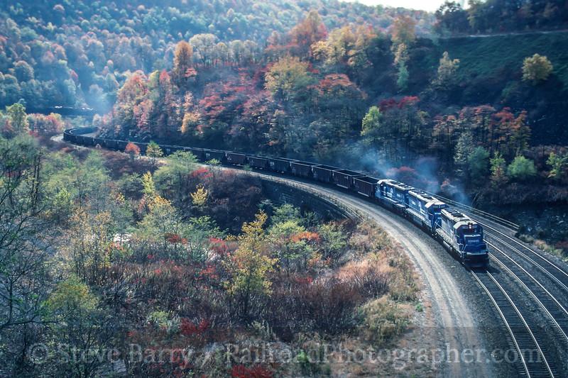 Conrail; Parkhill PA; 10/1991