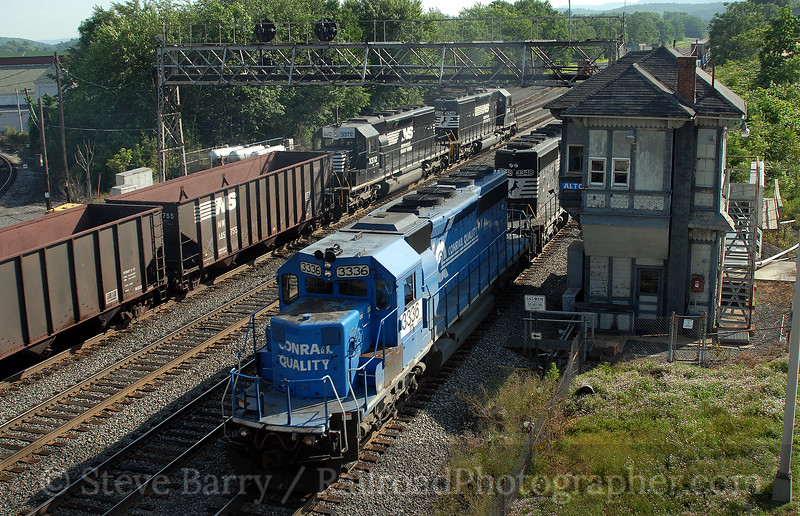 Photo 0709<br /> Norfolk Southern; Alto Tower, Altoona, Pennsylvania<br /> July 31, 2006