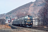 Photo 4875<br /> Conrail<br /> Port Jervis, New York<br /> April 1996
