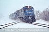 Photo 4849<br /> Conrail<br /> Palmer, Massachusetts<br /> January 1990