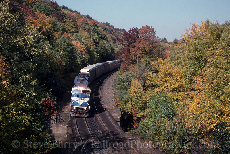 Photo 2001<br /> Conrail; Twin Ledges, Becket, Massachusetts<br /> October 6, 1997