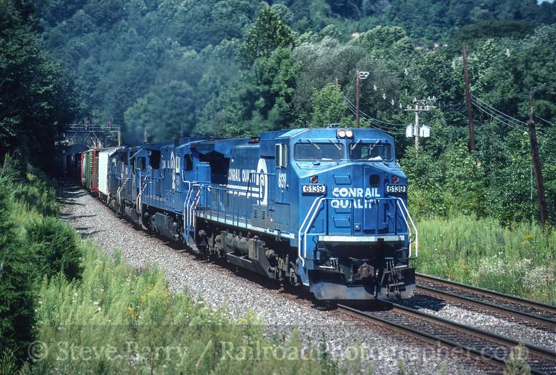 Photo 3510<br /> Conrail; Pattenburg, New Jersey<br /> August 22, 1992