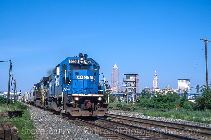 Norfolk Southern; Cleveland OH; 6/2002