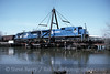 Photo 1757<br /> Conrail; Paulsboro, New Jersey<br /> March 22, 1994