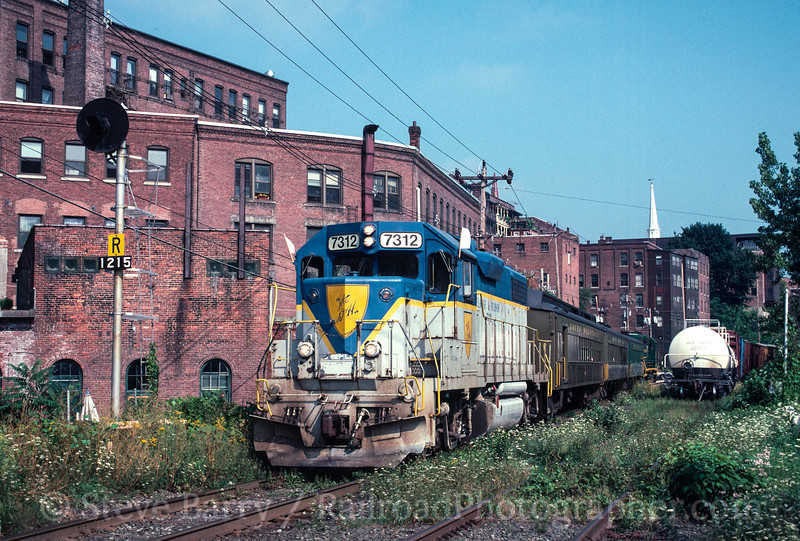 Photo 2490 Vermont Rail System; Brattleboro, Vermont July 31, 1999