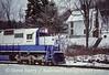 Photo 5177<br /> Delaware & Hudson<br /> Lanesboro, Pennsylvania<br /> December 1985