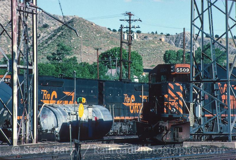 Photo 5234<br /> Southern Pacific<br /> Helper, Utah<br /> June 1997