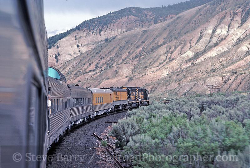 Photo 1663 <i>Rio Grande Zephyr</i>; East of Dotsero, Colorado