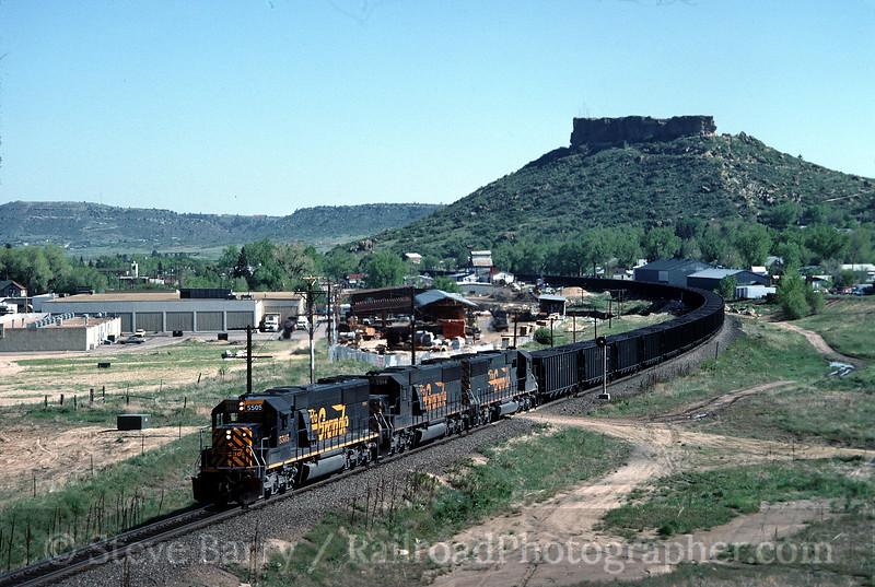 Photo 0247<br /> Denver & Rio Grande Western; Castle Rock, Colorado<br /> May 1985
