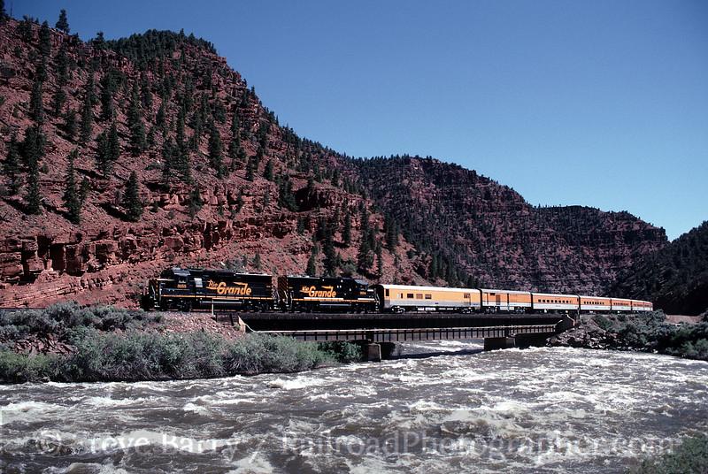 Photo 0649<br /> Rio Grande Ski Train; Burns, Colorado<br /> June 29, 1997