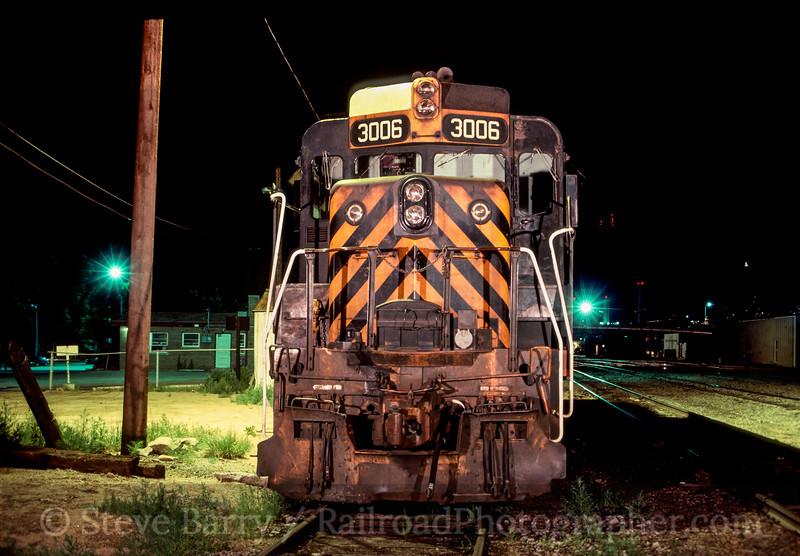 Photo 2894 Denver & Rio Grande Western; Colorado Springs, Colorado June 1988