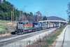 Photo 5408<br /> CSX Transportation<br /> Woodbine, Kentucky<br /> November 1990