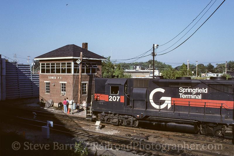 Photo 3785<br /> Guilford Transportation; Rigby Yard, South Portland, Maine<br /> August 1996