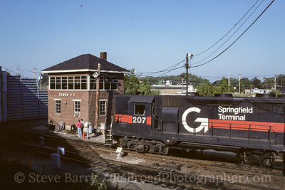 Photo 3785 Guilford Transportation; Rigby Yard, South Portland, Maine August 1996