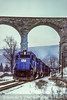 Photo 5052<br /> Guilford Transportation<br /> Starrucca Viaduct, Lanesboro, Pennsylvania<br /> December 1985