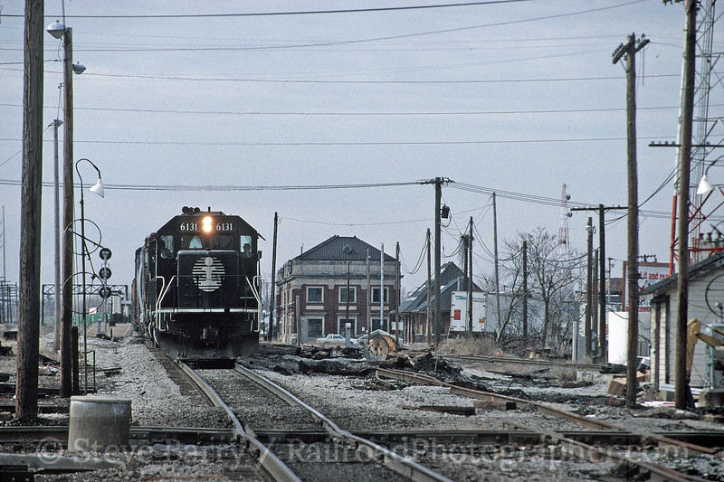 Photo 1778<br /> Illinois Central; Champaign, Illinois<br /> April 3, 1993