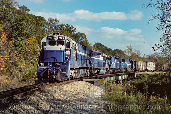 Photo 4123 Detroit Edison (on Monongahela); Waynesburg, Pennsylvania October 1990
