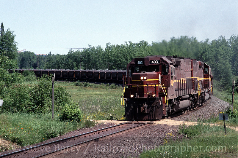 Photo 0852<br /> Duluth, Missabe & Iron Range; Mountain Iron, Minnesota<br /> July 2004