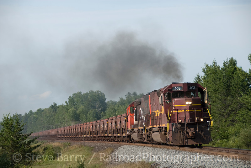 Photo 1632<br /> Canadian National (Duluth, Missabe & Iron Range); Culver, Minnesota<br /> August 14, 2009