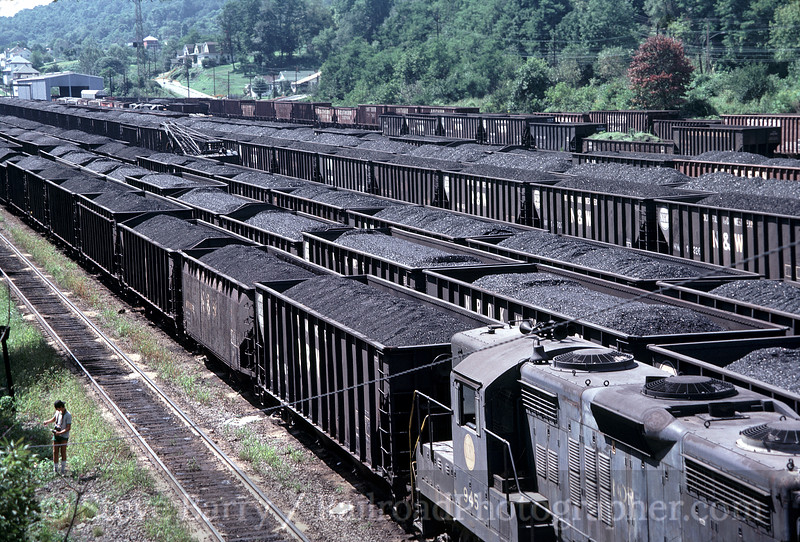 Photo 1268<br /> Norfolk & Western; Bluefield, West Virginia<br /> September 1982