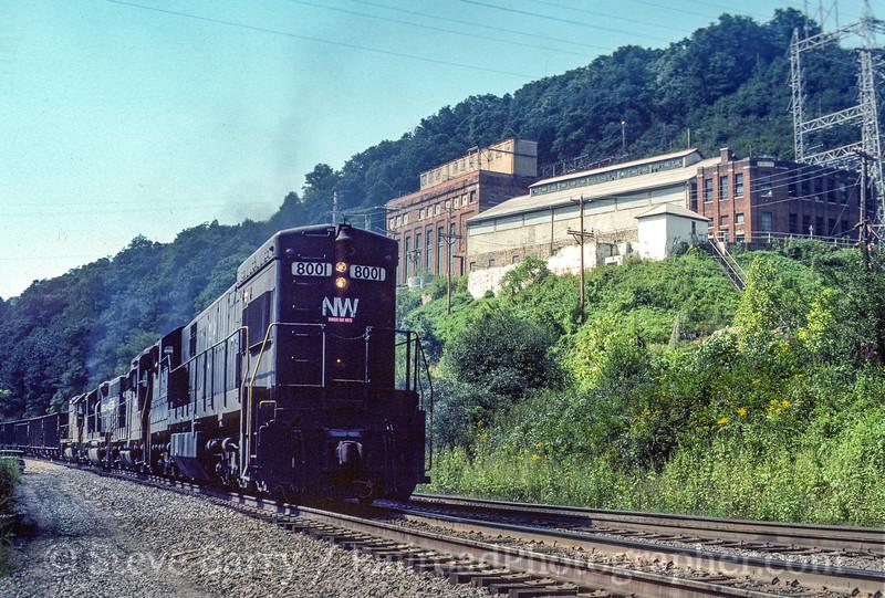 Photo 5125<br /> Norfolk Southern<br /> Switchback, West Virginia<br /> September 1982