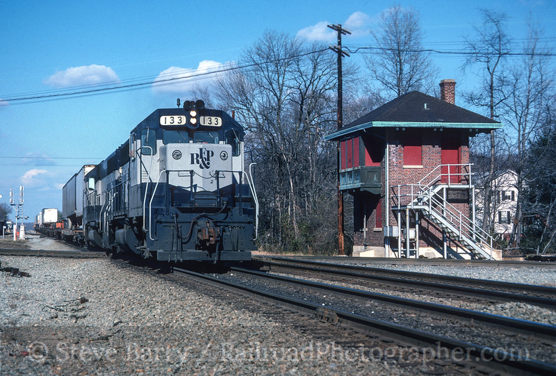 Photo 3507<br /> Richmond, Fredericksburg & Potomac; Doswell, Virginia<br /> January 1988