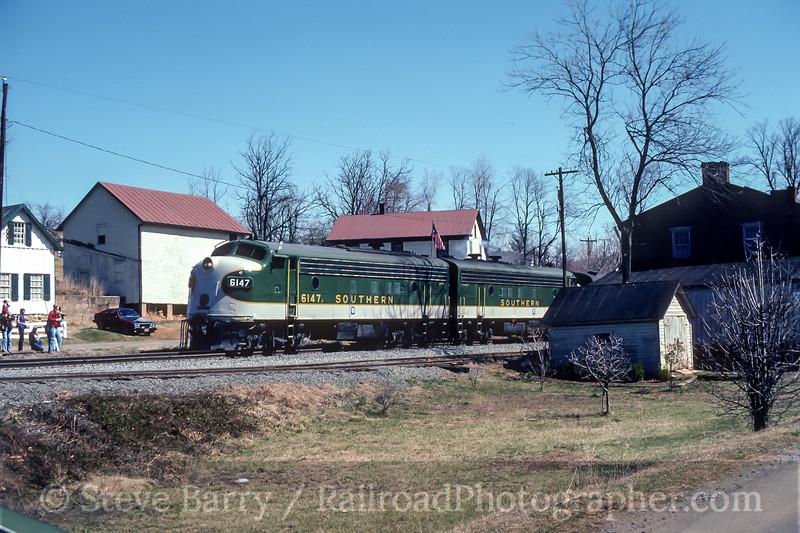 Photo 4572<br /> Southern<br /> Delaplane, Virginia<br /> April 1981