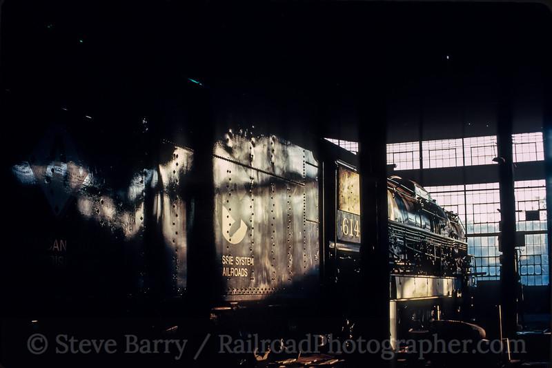 Chesapeake & Ohio 614; Hagerstown MD; 5/1987