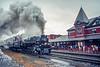 Chesapeake & Ohio 614; Port Jervis NY; 10/1996
