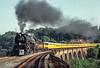 Photo 2199<br /> Chesapeake & Ohio 614; Thomas Viaduct, Relay, Maryland<br /> September 19, 1980