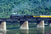 Photo 3673<br /> Chessie Safety Express; Harpers Ferry, West Virginia<br /> September 19, 1980