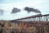 Photo 1718<br /> Chesapeake & Ohio 614<br /> Moodna Viaduct, Salisbury Mills, New York