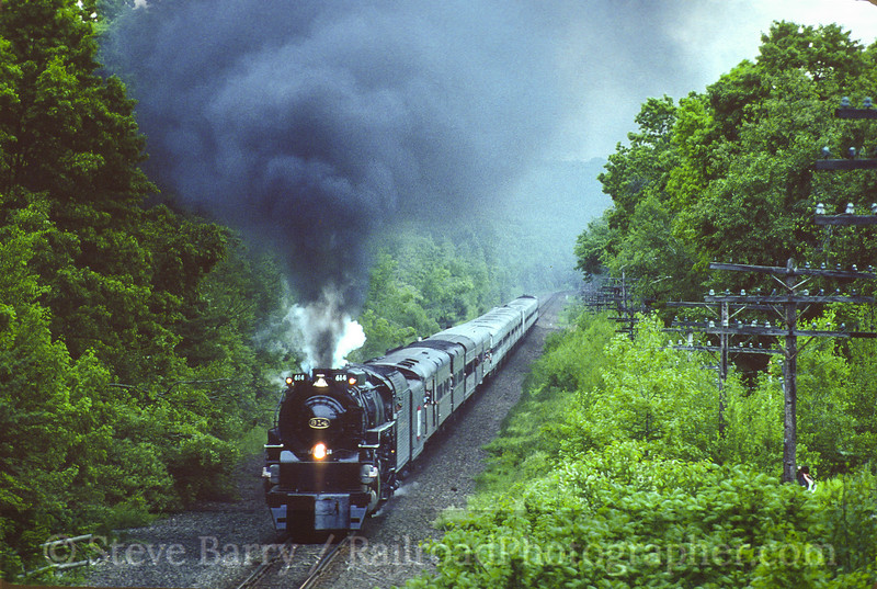 Photo 3615<br /> Chesapeake & Ohio 614; Shin Hollow, Port Jervis, New York<br /> June 7, 1997