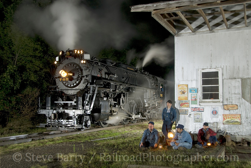 Photo 1612<br /> Nickel Plate Road 765; Carland, Michigan<br /> August 29, 2009
