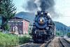 Photo 4482<br /> Nickel Plate Road 765<br /> Meadow Creek, West Virginia<br /> August 1991
