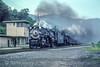Photo 5227<br /> Nickel Plate Road 765<br /> Handley, West Virginia<br /> August 1991