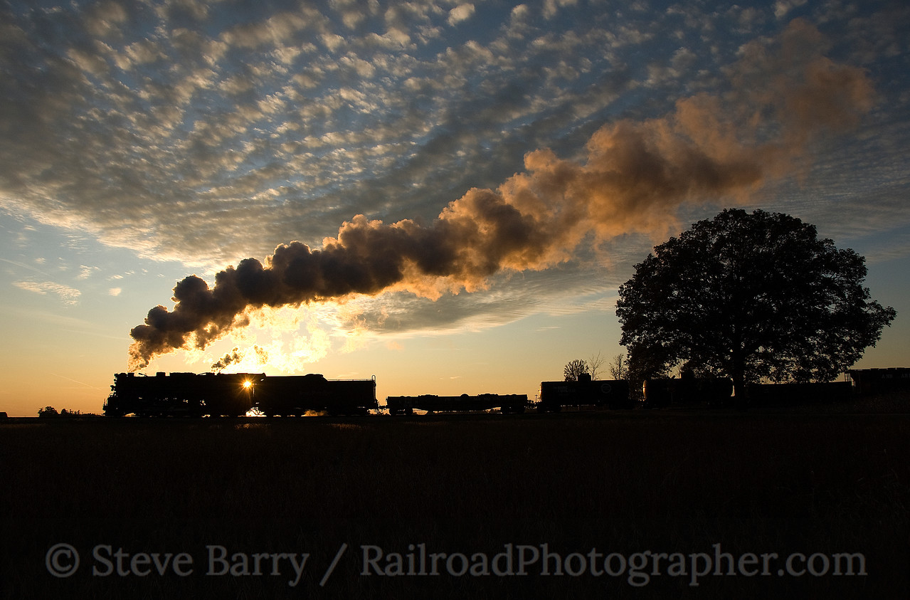Photo 1696<br /> Nickel Plate Road 765; Owosso, Michigan<br /> October 11, 2009
