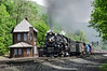 Photo 2724<br /> Nickel Plate Road 765; MG Tower, Altoona, Pennsylvania<br /> May 27, 2013