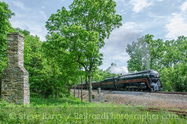 Photo 3806 Norfolk & Western 611; Broad Run, Virginia June 5, 2016