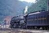 Photo 0406<br /> Norfolk & Western 1218; Iaeger, West Virginia<br /> August 7, 1991