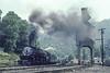 Photo 3515<br /> Norfolk & Western 1218; Iaeger, West Virginia<br /> August 8, 1991