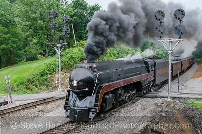 Photo 3438 Norfolk & Western 611; Villamont, Virginia July 5, 2015