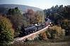 Photo 1165<br /> Norfolk & Western 1218; Applewood, Virginia<br /> October 1989