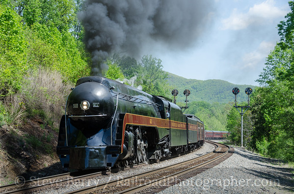 Photo 3759 Norfolk Southern; Blue Ridge, Virginia May 7, 2016