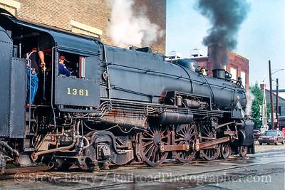 Photo 5096<br /> Pennsylvania Railroad 1361<br /> York, Pennsylvania<br /> September 1988